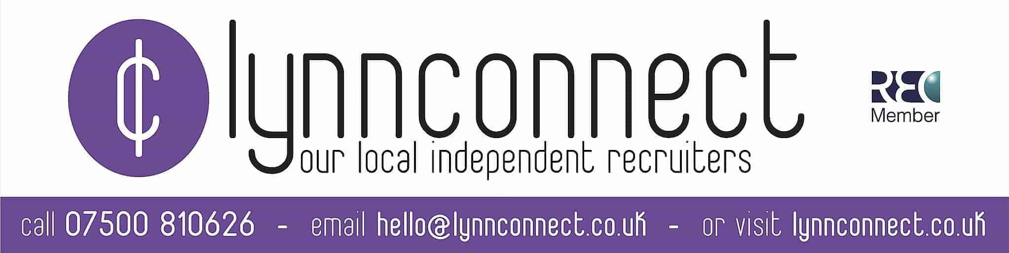 Lynnconnect recruitment banner