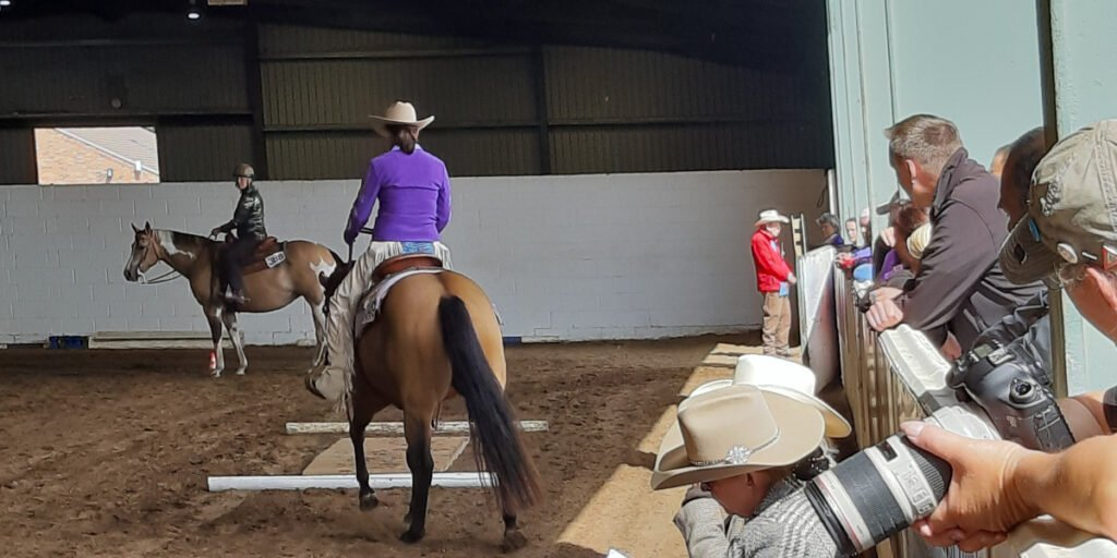 Western Riding at Sovereign Quarter Horses
